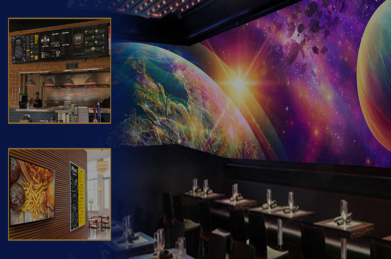 FLEXIBLE DISPLAY DESIGNS – RESTAURANT